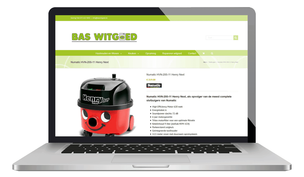 Baswitgoed laptop product