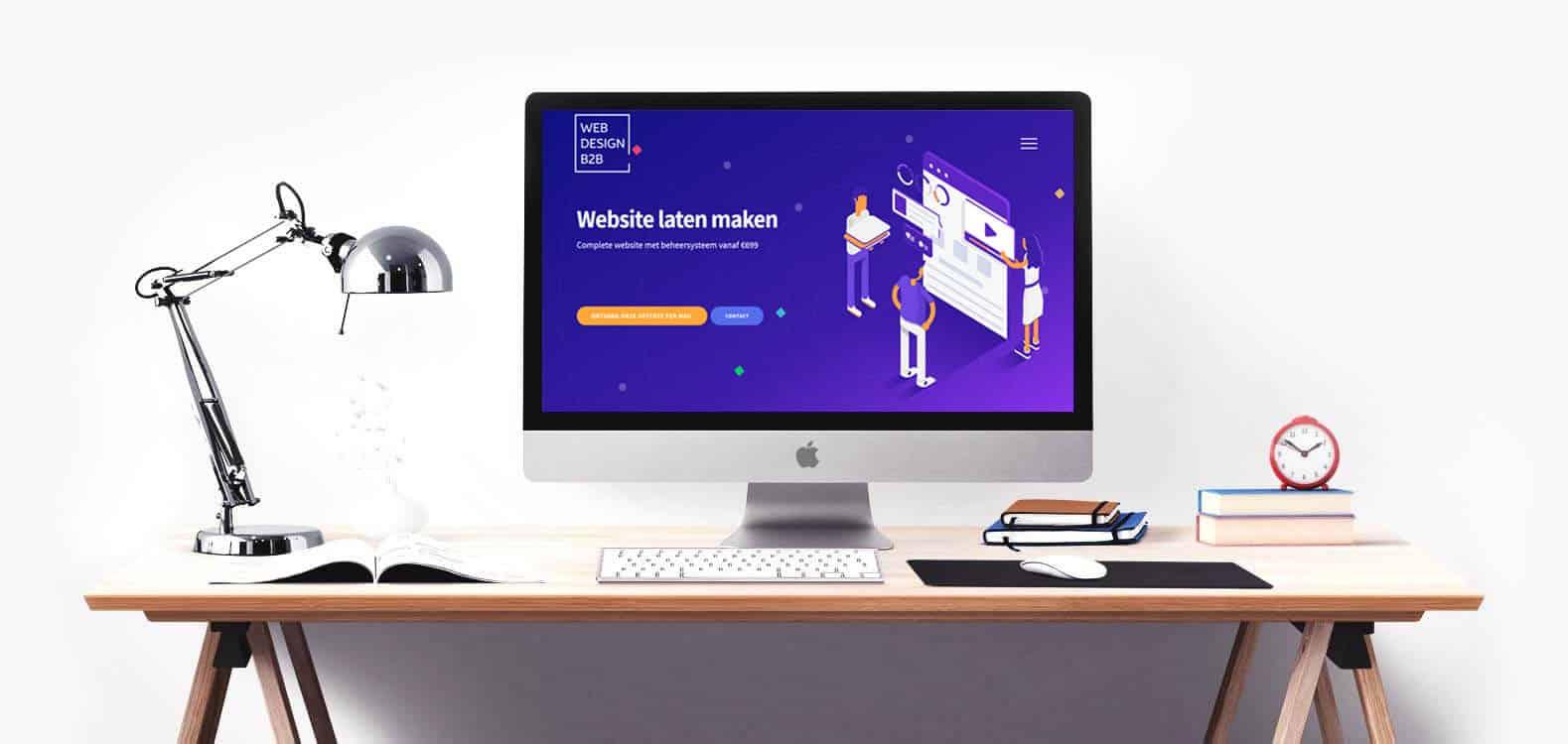 Webdesign voor websites en webshops